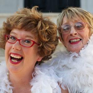 Barbara Moore and Lorraine Bowen
